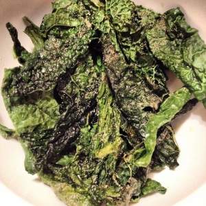 Organic Black Kale Chips Recipe