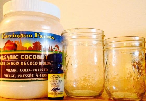 Coconut Oil, Lavender Oil, Oil Bathing Instructions, Abhyanga