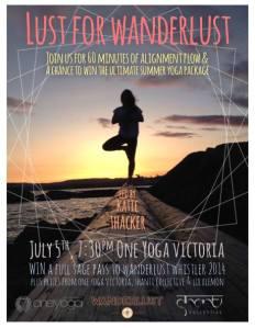 wanderlust yoga festival whistler 2014