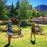 Hula Hooping at Wanderlust Whistler 2014