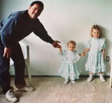 Dad, Karlie and I