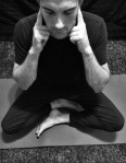 Seated meditation with Bhramari Breath Domestikatie Katie Thacker