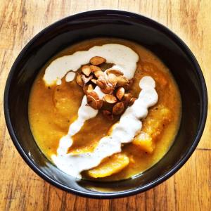 Savory Squash Soup Vegan and Gluten Free